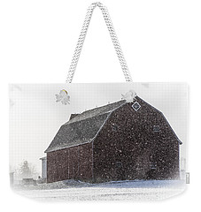 Standing Tall In The Snow Weekender Tote Bag
