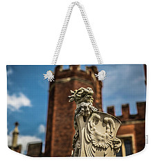 Standing Watch Weekender Tote Bag by Lora Lee Chapman
