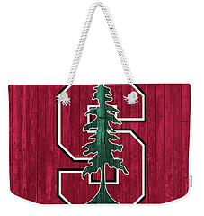 Stanford Barn Door Weekender Tote Bag by Dan Sproul