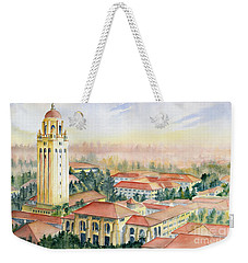Stanford University California Weekender Tote Bag by Melly Terpening