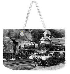 Stanier Pacifics At Swanwick Weekender Tote Bag