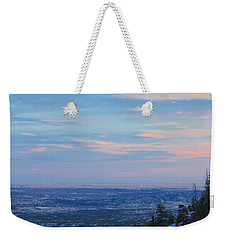 Weekender Tote Bag featuring the photograph Stanley Canyon Hike by Christin Brodie