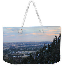 Stanley Canyon View Weekender Tote Bag