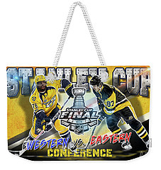 Stanley Cup 2017 Weekender Tote Bag by Don Olea