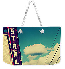 Weekender Tote Bag featuring the photograph Stanley by Trish Mistric