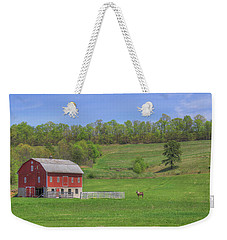 Star And Moon Barn Weekender Tote Bag