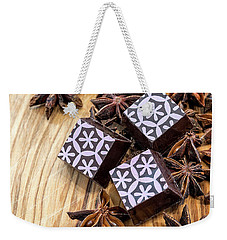 Star Anise Chocolate Weekender Tote Bag