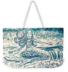 Star Bearer Mermaid Weekender Tote Bag