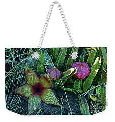 Star Blossom Weekender Tote Bag by Craig Wood