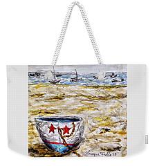 Star Boat Weekender Tote Bag