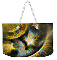 Weekender Tote Bag featuring the photograph Star Burst by Greg Collins