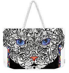Star Cat Weekender Tote Bag