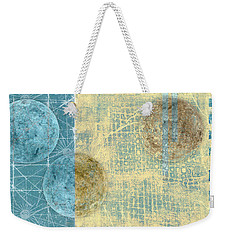 Weekender Tote Bag featuring the photograph Star Chart Landing Pattern by Carol Leigh