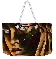 Star Child Weekender Tote Bag by Kathy Kelly