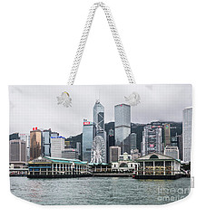 Star Ferry Building Terminal In The Central Business District Of Weekender Tote Bag