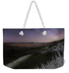 Weekender Tote Bag featuring the photograph Star Flowers Square by Bill Wakeley