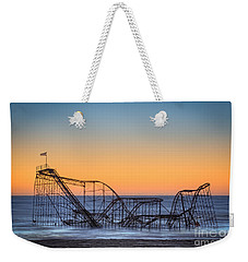 Star Jet Roller Coaster Ride  Weekender Tote Bag