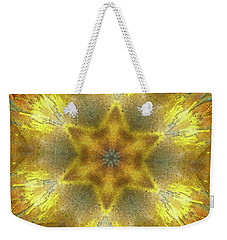 Star Kaleidoscope Weekender Tote Bag by Wim Lanclus