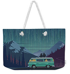 Star Light Vanlife Weekender Tote Bag