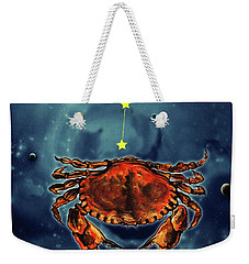 Star Of Cancer Weekender Tote Bag
