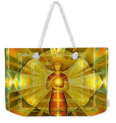 Star Of Venus Weekender Tote Bag