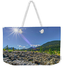 Star Over Creek Bed Rocky Mountain National Park Colorado Weekender Tote Bag