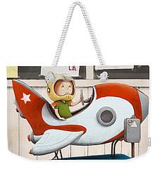 Star Seeker Weekender Tote Bag
