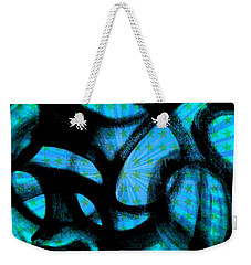 Weekender Tote Bag featuring the digital art Star Soul by Lucia Sirna