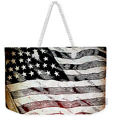 Star Spangled Banner Weekender Tote Bag by Angelina Vick