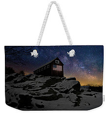 Weekender Tote Bag featuring the photograph Star Spangled Banner by Bill Wakeley