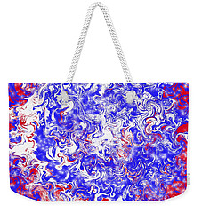 Star Spangled Glamour Weekender Tote Bag by Roxy Riou