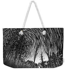 Star Trails - Blue Ridge Parkway Weekender Tote Bag
