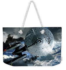 Star Trek Into Darkness, Original Mixed Media Weekender Tote Bag