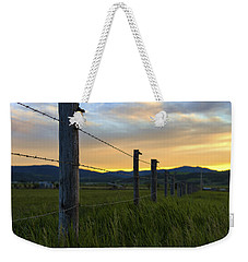 Star Valley Weekender Tote Bag by Chad Dutson