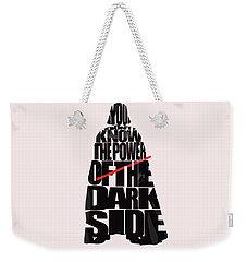 Star Wars Inspired Darth Vader Artwork Weekender Tote Bag