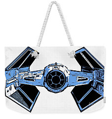 Star Wars Tie Fighter Advanced X1 Weekender Tote Bag by Edward Fielding