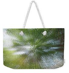 Starburst Weekender Tote Bag by Dennis Baswell