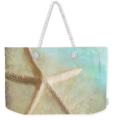 Starfish Weekender Tote Bag by Betty LaRue