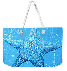 Starfish In Blue Weekender Tote Bag
