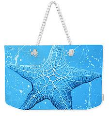 Starfish In Blue Weekender Tote Bag