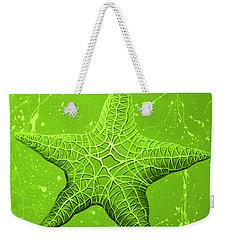 Starfish In Green Weekender Tote Bag