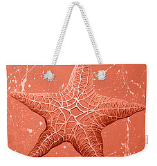 Starfish In Pink Weekender Tote Bag