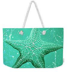 Starfish In Teal Weekender Tote Bag