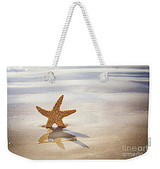 Starfish On The Beach Weekender Tote Bag