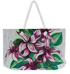 Stargazers Blooming Weekender Tote Bag by J R Seymour