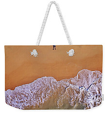 Weekender Tote Bag featuring the photograph Staring At The Sky by Keiran Lusk