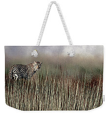 Weekender Tote Bag featuring the photograph Staring Back by Diane Schuster