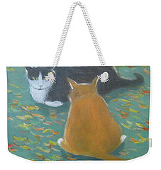 Staring Contest  Weekender Tote Bag