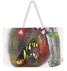 Staring Into The Void Weekender Tote Bag