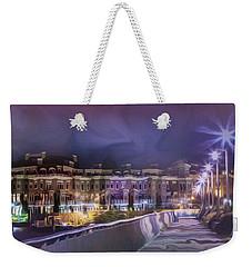 Starless Night Weekender Tote Bag